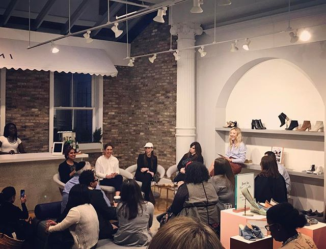 """Don't be afraid to learn something new. It might take you longer but you also might come up with something totally different because no one has ever approached it from that angle."" - Arshiya Kherani, @sukoonactive Founder 