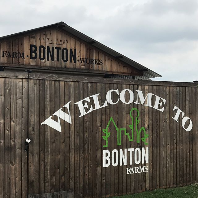 "What happens when a community comes together to cultivate a farm in an ""urban food desert""? Magic. Thanks, @bontonfarms, for a truly life-changing experience."