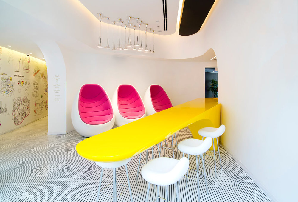 Restored Bauhaus Building Gets Karim Rashid Treatment - Design Milk