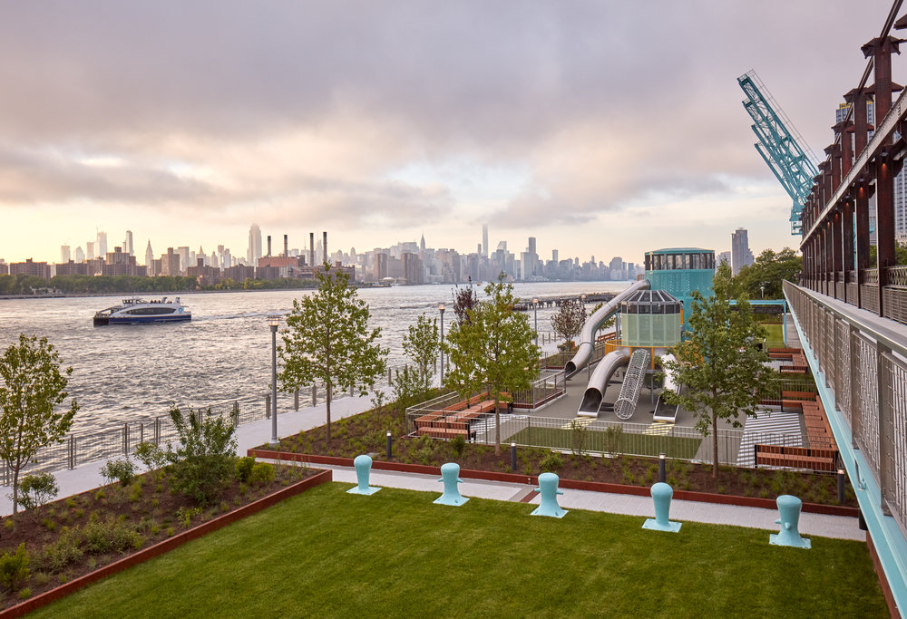 Brooklyn's Sweetest Sensation Is a New Park on the Site of a Former Sugar Factory - Travel + Leisure