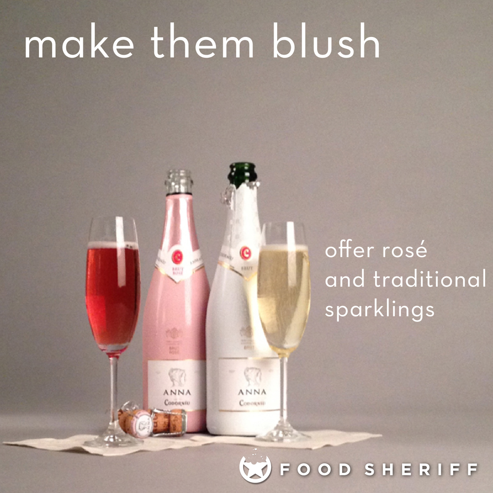 I love rosé wines and especially sparkling rosés. The also seem to pair amazingly with all types of food.