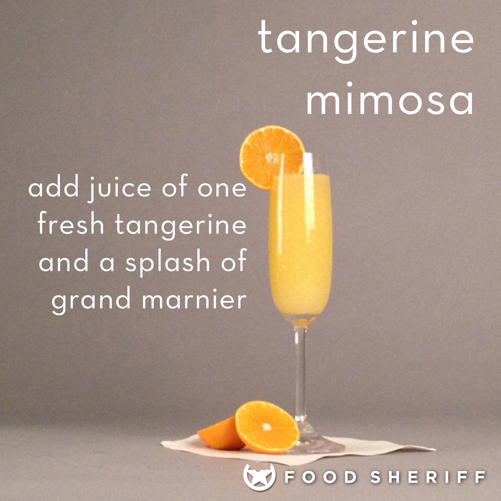 So, when I made that batch of tangerine cello (recipe post coming soon), I had to find good uses for the fruit itself. This one definitely passes the test.