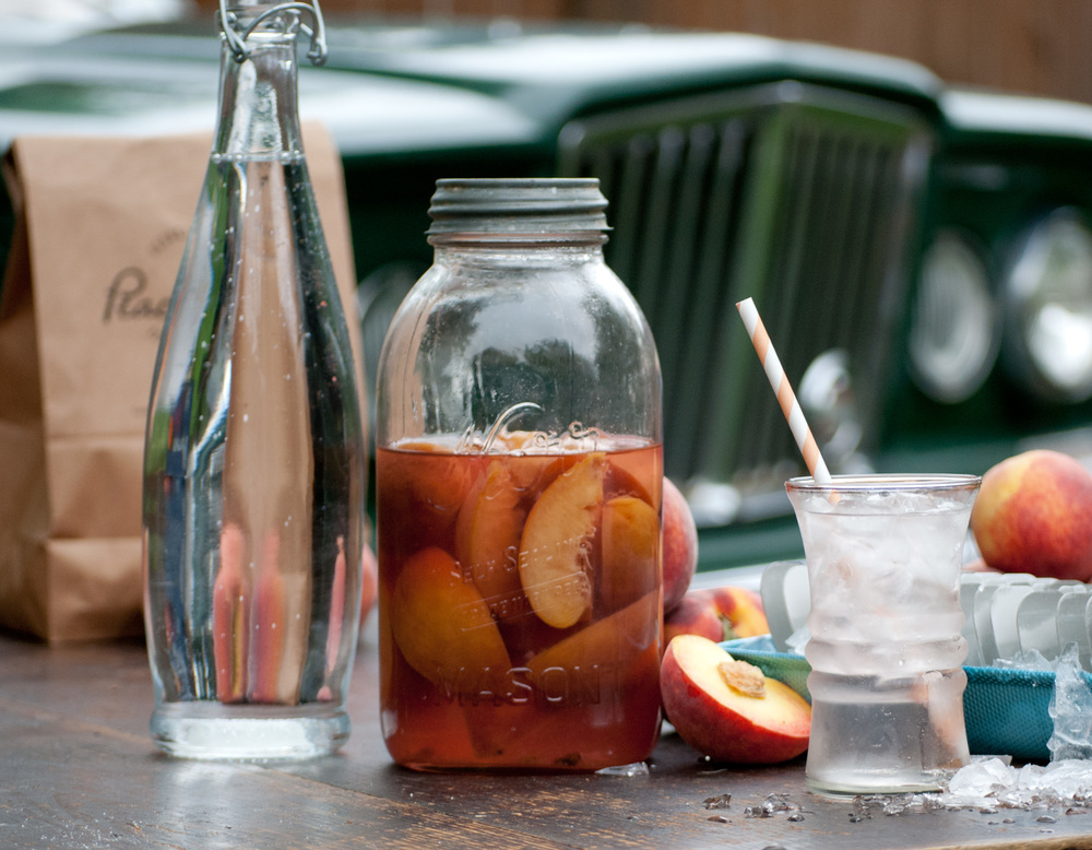Food Sheriff | Recipe Development | Peach Vodka