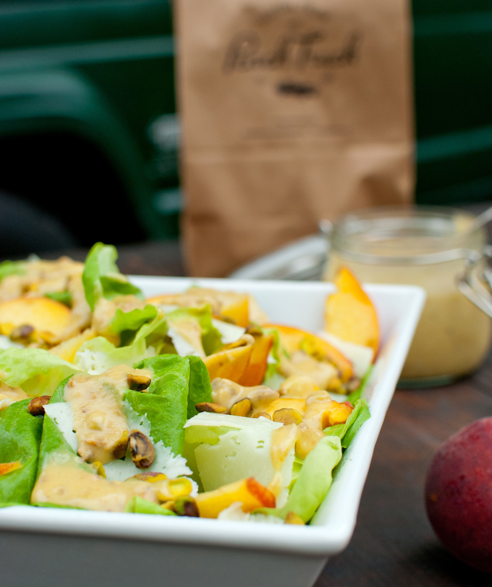 Food Sheriff | Recipe Development | Pistachio Peach Salad