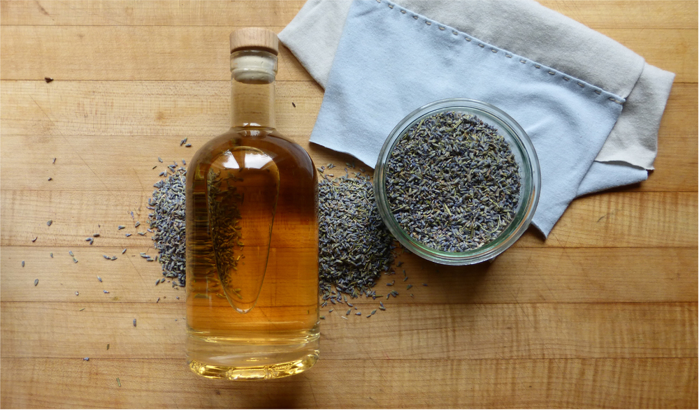 LAVENDER-INFUSED VODKA
