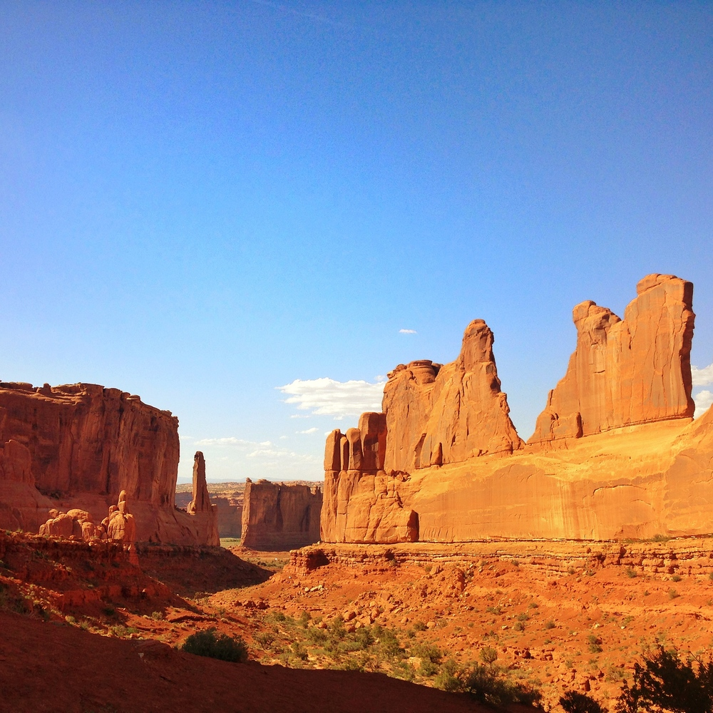 Arches National Park in Moab, UT