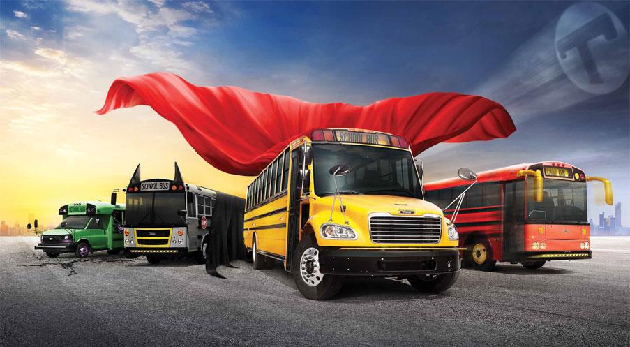 Thomas Built Buses >> THOMAS BUILT SCHOOL BUSES — TEDDY SHIPLEY / ART DIRECTOR