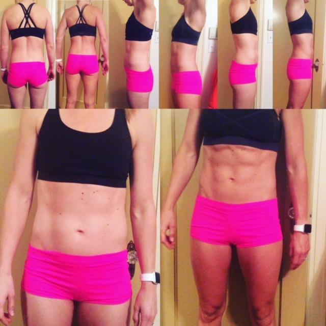 4 week CrossFit transformation
