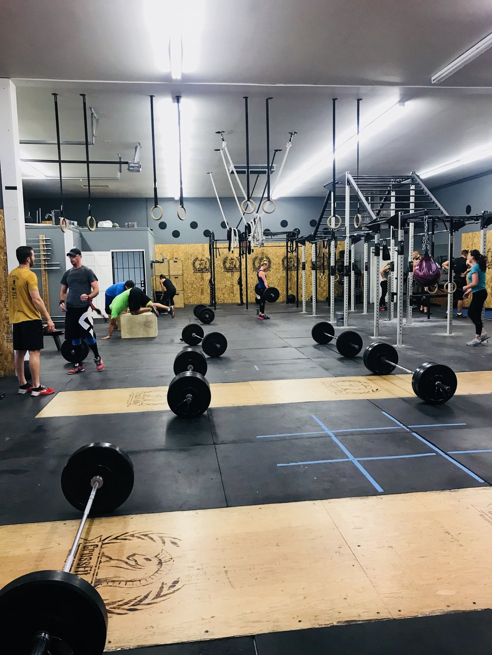 Our CrossFit Gym is conveniently located in Ammon, 5 minutes outside of Idaho Falls.