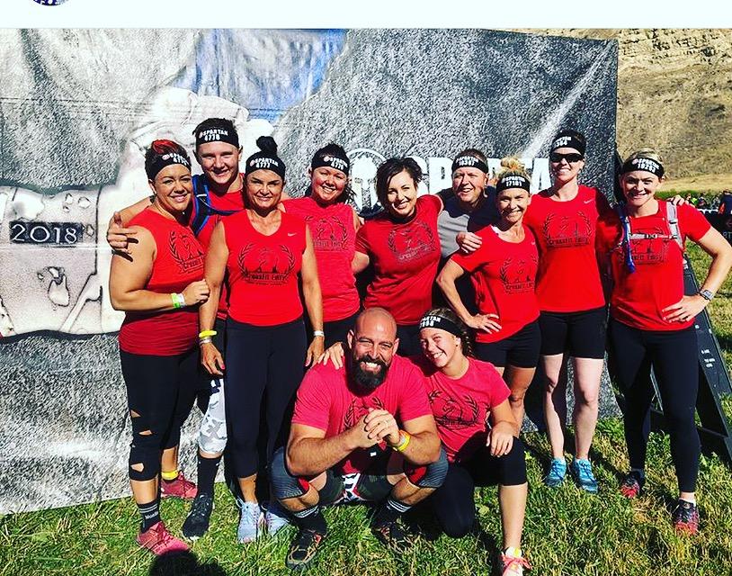CrossFit Edify Team at 2018 Spartan Race