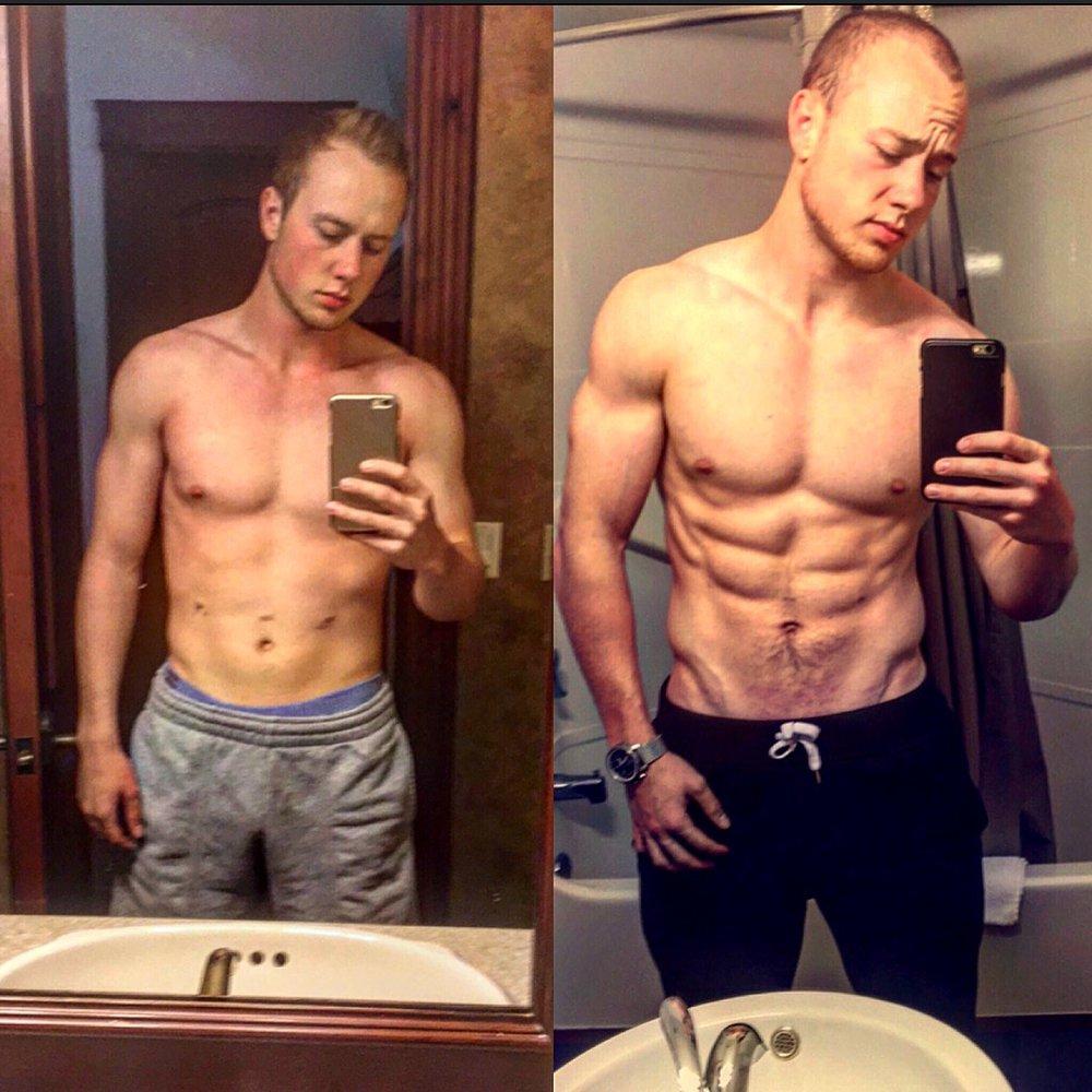 Xavier Banks CrossFit Body Transformation