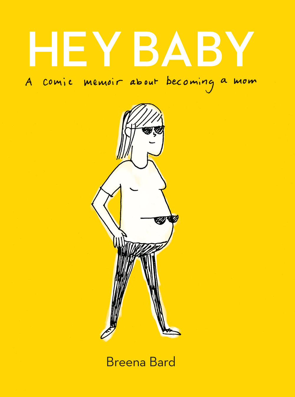 Now available! My brand new comic memoir about becoming a mom.   Get it!