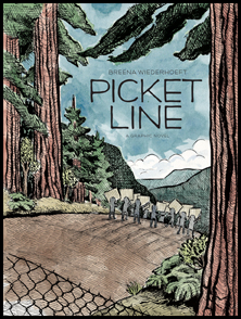 My debut graphic novel about protests and trees and love and stuff. Buy now!