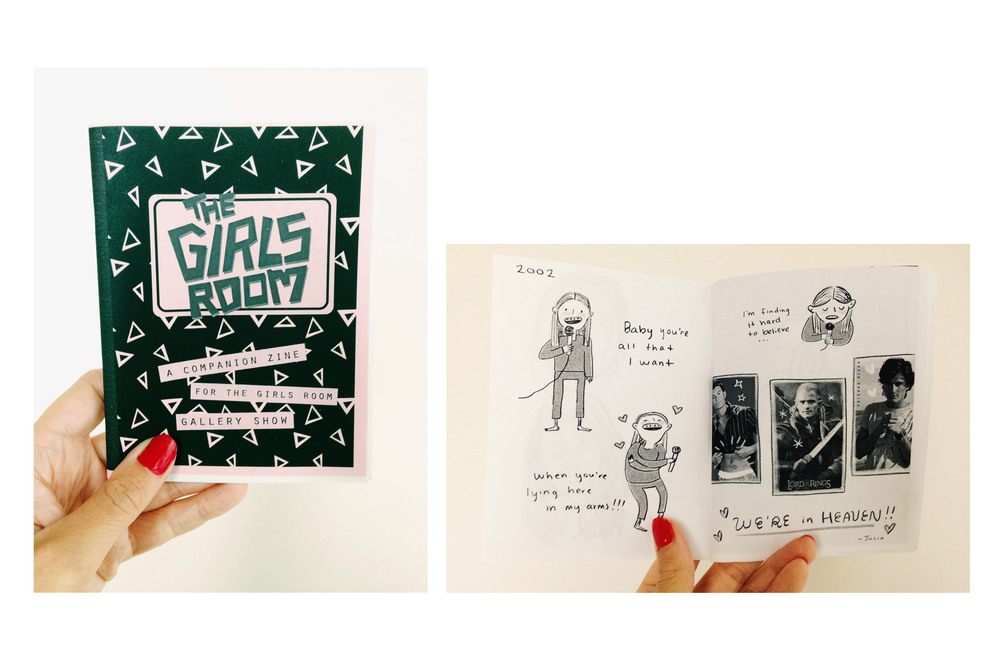 """The Girls' Room Zine"", 2013."