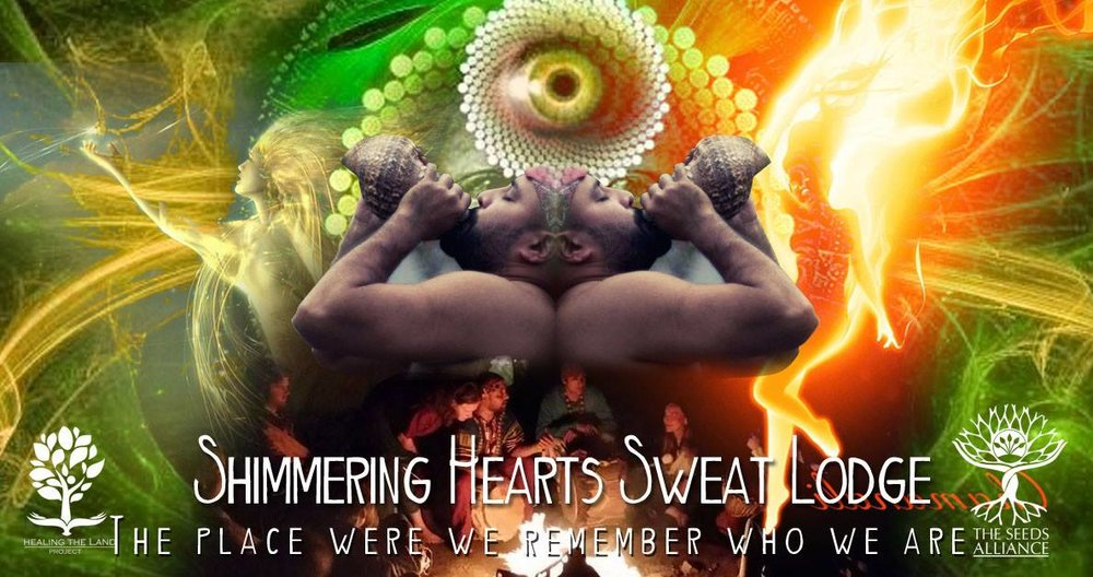 SWEAT LODGE- A RITUAL WITH THE ELEMENTS     **Special Announcement ****    On the 25th February our Brother Ravi JI will be running a Voice workshop Before the Sweat Lodge from 12 to 1pm.     Contribution for the Workshop will be £10    ** The fire for the Sweat Lodge starts at 11am, we go in at 1pm**    The Sweat Lodge is a ritual where individuals enter a dome-shaped dwelling to experience a sauna-like environment. The lodge itself is typically a wooden-framed structure made from tree branches. Hot rocks –we call them grandmothers and they are consider to be medicine- are placed inside an earthen-dug pit located in the center of this man-made enclosure. Water is periodically poured over the heated rocks to create a hot and steamy room.   The sweat ceremony is intended as a spiritual reunion with the creator and a respectful connection to the earth itself as much as it is meant for purging toxins out of the physical body.  Mental Healing - The Sweat Lodge ceremony gives its participants the opportunity to free their minds of distractions, offering clarity.  Spiritual Healing - The Sweat Lodge ceremony offers a place for introspection and connection to the planet and the spirit world.  Physical Healing - Sweat Lodge ceremony gives anti-bacterial and wound-healing benefits.   http://healing.about.com/od/sweatlodge/a/sweat-lodge-ceremony-benefits.htm   There are many variations in how a Sweat Lodge is carried out, in some cultures it is a sacred ceremony of purification, whereas in others it fulfils the function of physical bath.   Our Sweat Lodge bring together different traditions and the ways of different teachers from around the world. Our Sweat Lodge is a focus in helping our participants to establish a sacred relation with the elements.   The Sweat Lodge is a place of spiritual refuge and mental and physical healing, a place to get answers and guidance by asking spiritual entities, totem helpers, the Creator and Mother Earth for the needed wisdom and power.  LIMITED PLACES!!!!  For more info and bookings:   http://www.healingthelandproject.com/shimmering-hearts-sweat-lodge-registration-form     or Mobil: 07757946219 Location:  Friern Barne  ( exact location will be disclose after booking) Price: £40 for one Sweat Lodge or £70 for two (we recommended to do the two days as a way to fully integrate the experience)