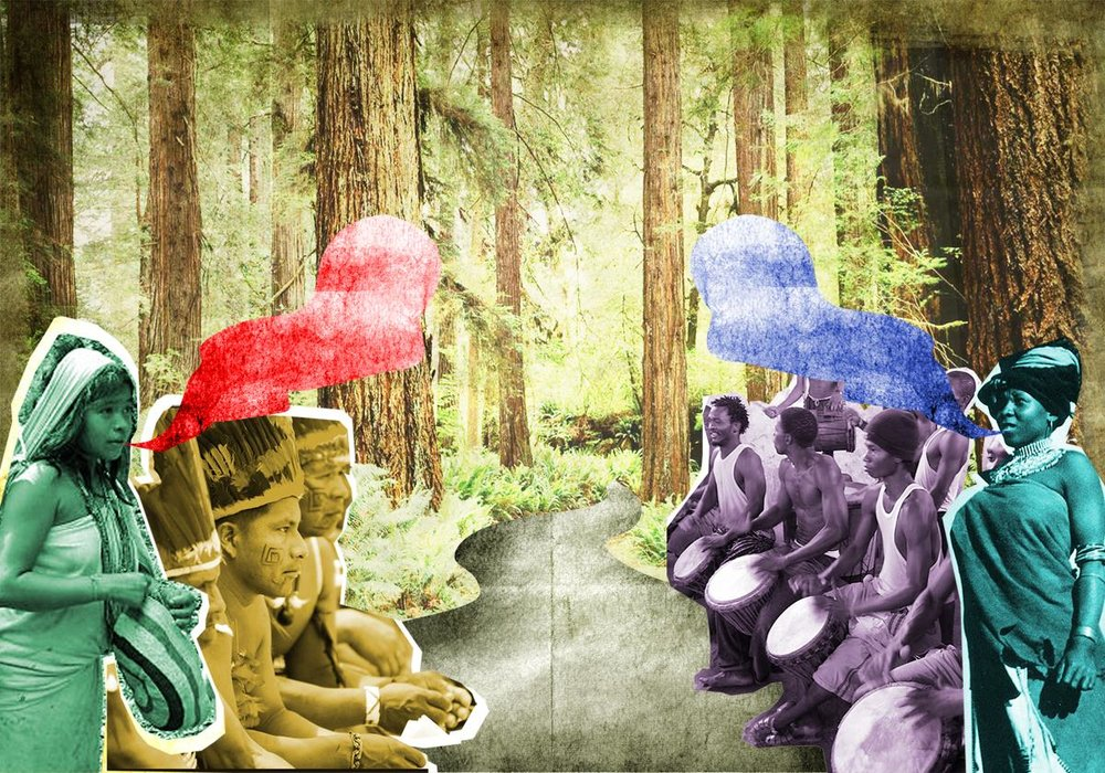 Afro-Colombian Shamanic Drumming -