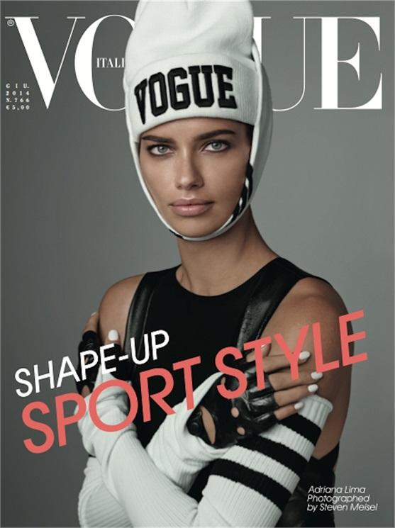 Adriana Lima Vogue Italia