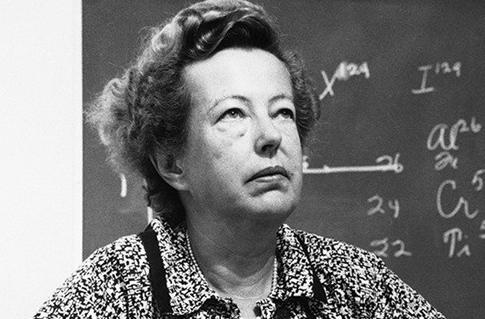 Maria Mayer - Di origine tedesca fisico americano che ha ricevuto il Premio Nobel per aver suggerito il modello a shell nucleare del nucleo atomico.