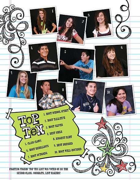 people love seeing themselves in the yearbook - Yearbook Design Ideas