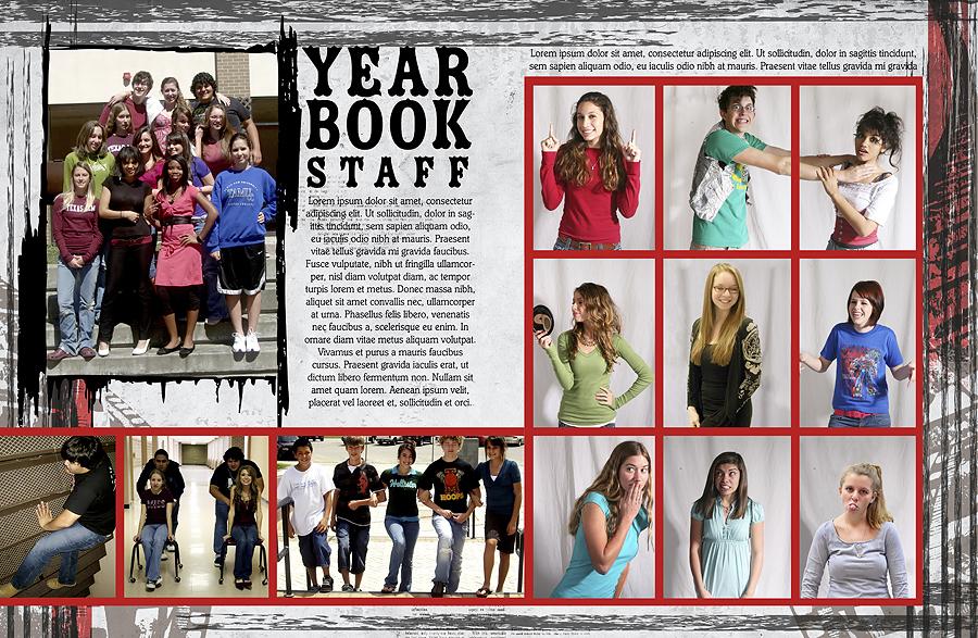 Yearbook Design Ideas