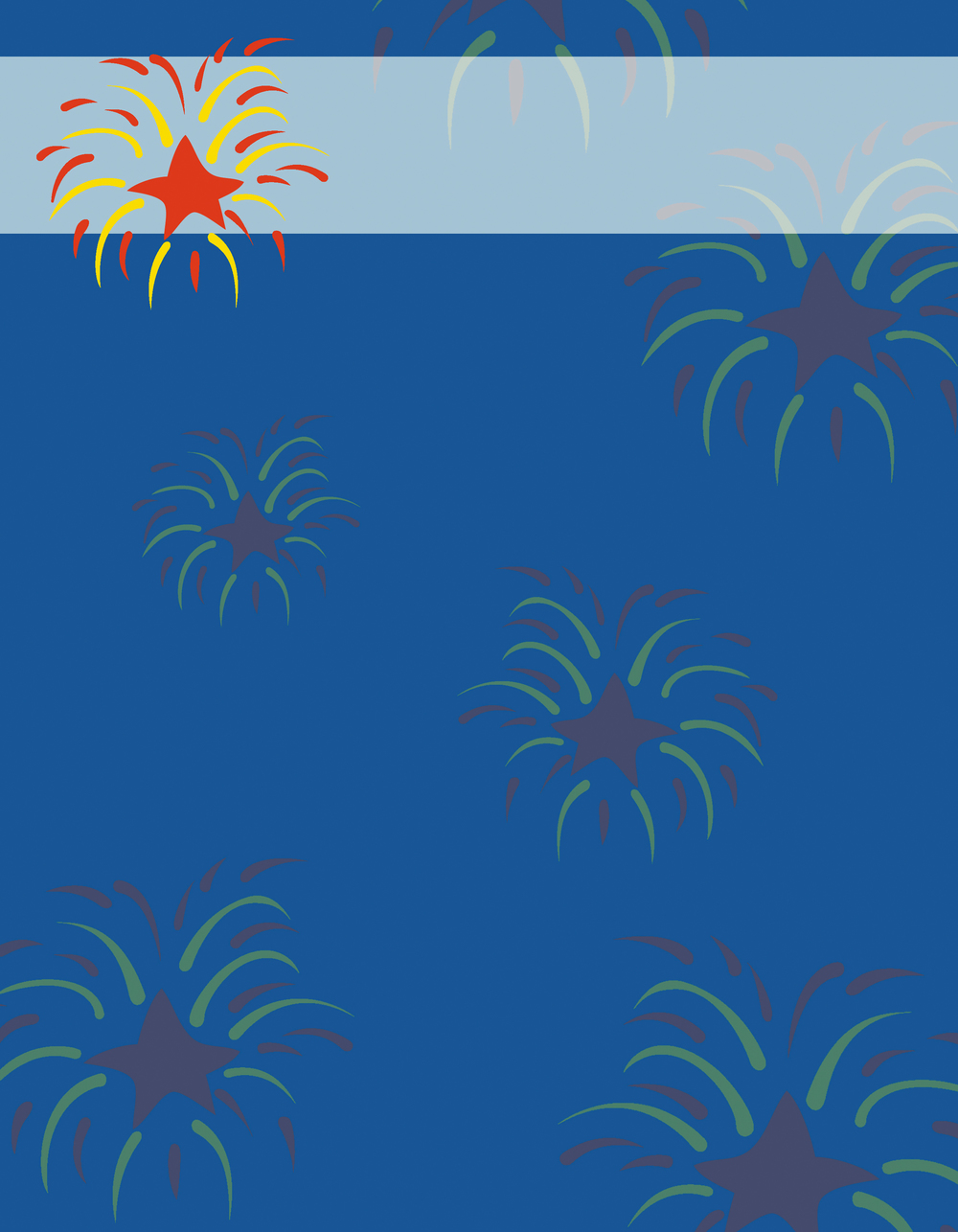 Patriotic Collection - B1384S (background)