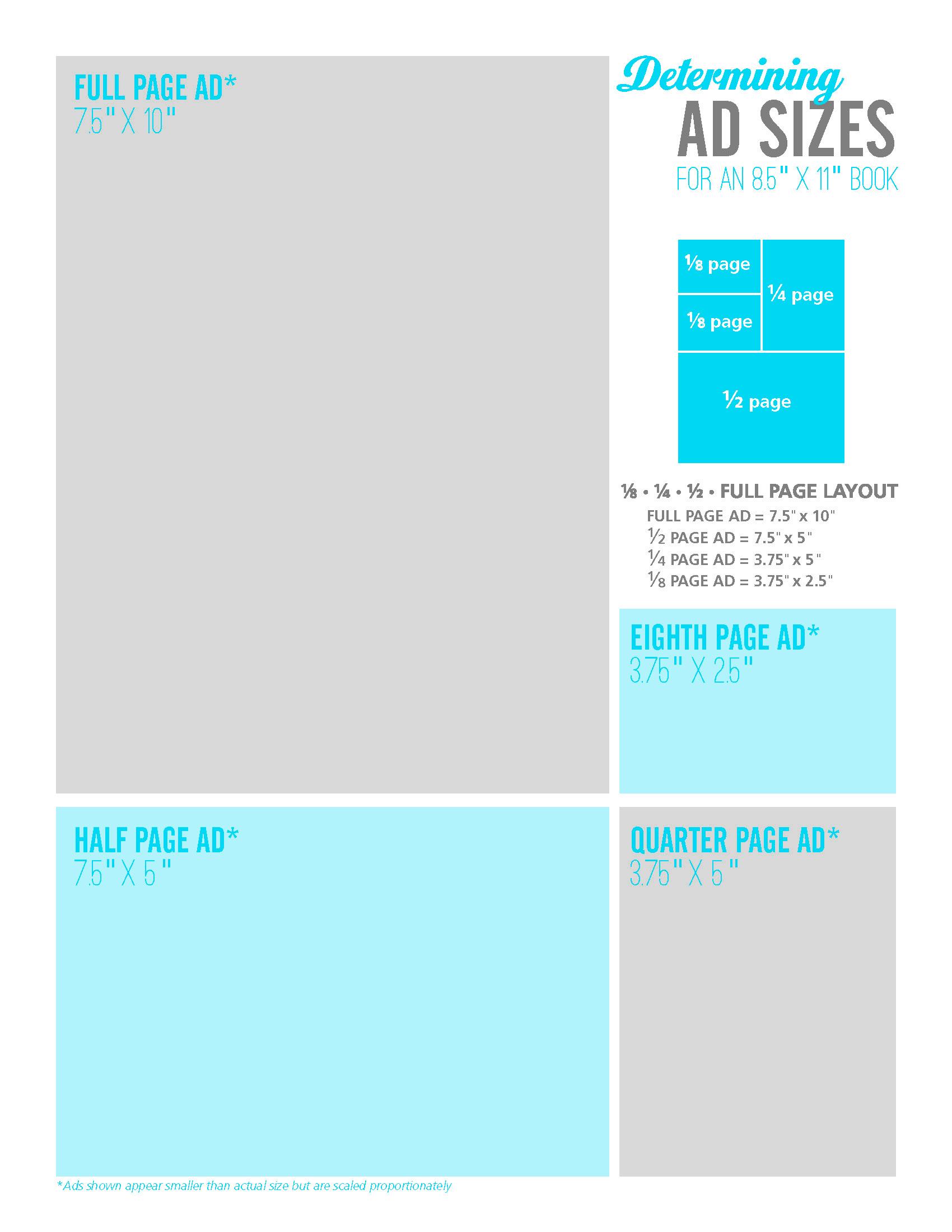 Yearbook Ads: Determining Ad Sizes — Pictavo