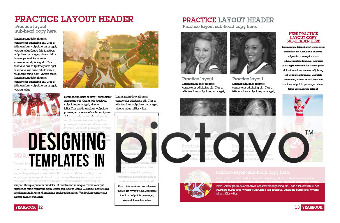 Now What Creating Yearbook Templates Like A Pro Pictavo - Yearbook design templates