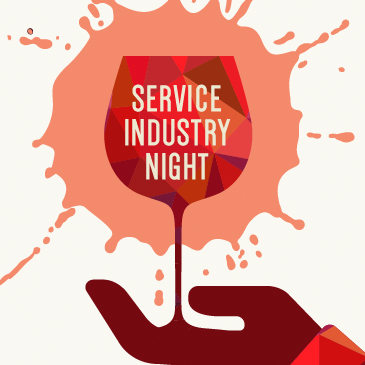 MONDAYS: Service Industry Night