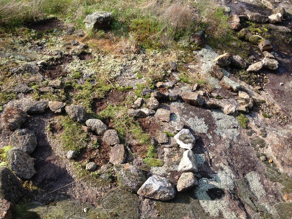 Stone trail. Athens, GA. Spring 2014