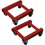 #19021 1250lbs Professional Car Dolly Set Sold in Pairs