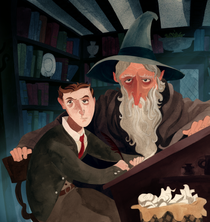 Tolkien and Gandalf 5 - Benjamin Schipper