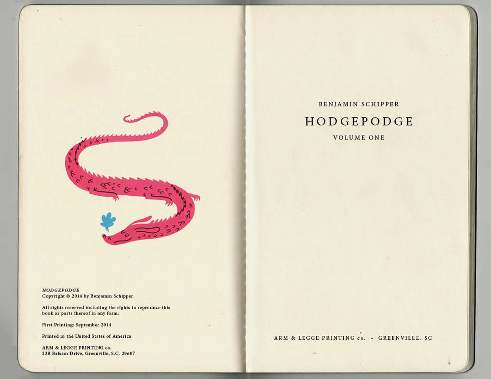 hodgpodge title page