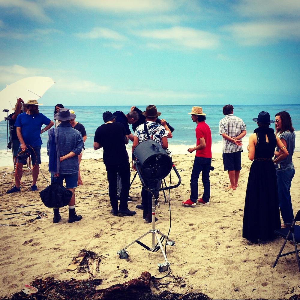 El Pescado Beach in LA, California was the perfect location for this cosmetics shoot - campaign coming Jan 2015 !