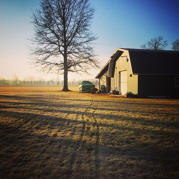 The barn my Father built