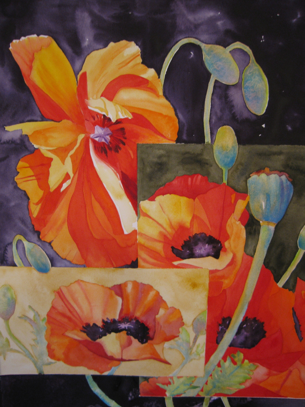 Twilight Poppies #3