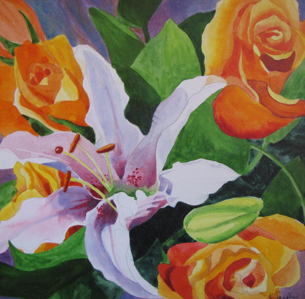 Lilies and Roses #2