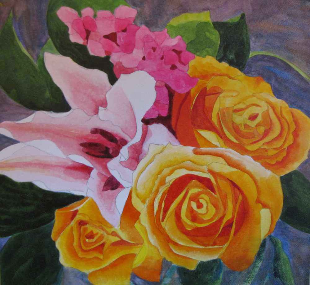 Lilies and Roses #3