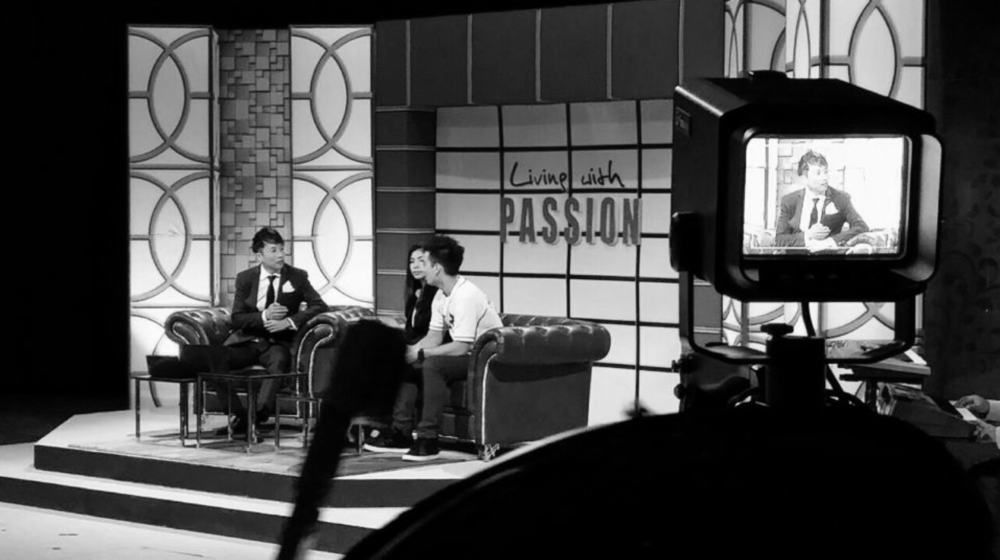 2014  Living with Passion: hosting a 15-episode TV show bringing various domain leaders to the public. The TV show was later broadcasted in different countries – with repeated runs three years later.
