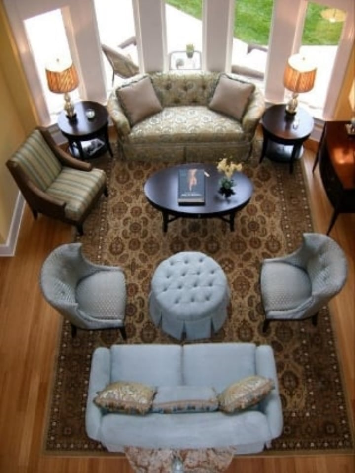 Casual Elegance. Living Room, With Room For All.