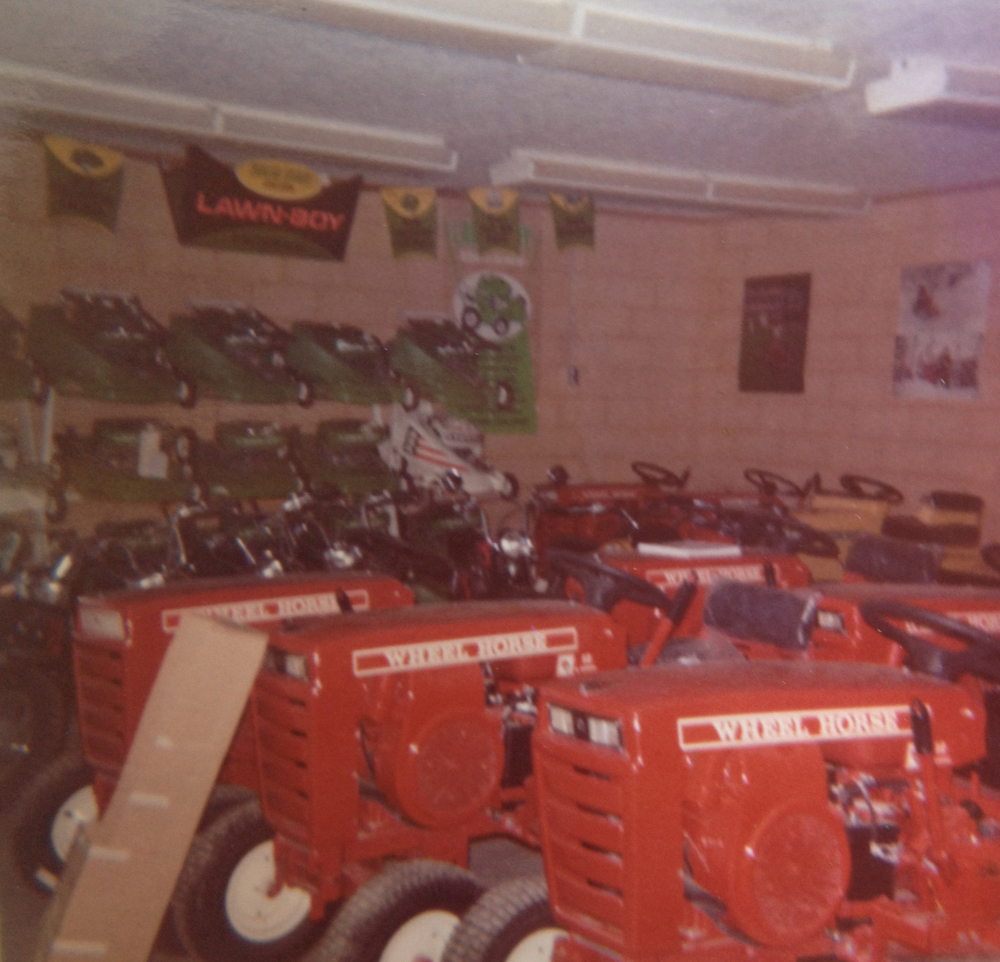 Humphreys' has always prided itself on keeping a large inventory on hand. Even as far back as 1972!