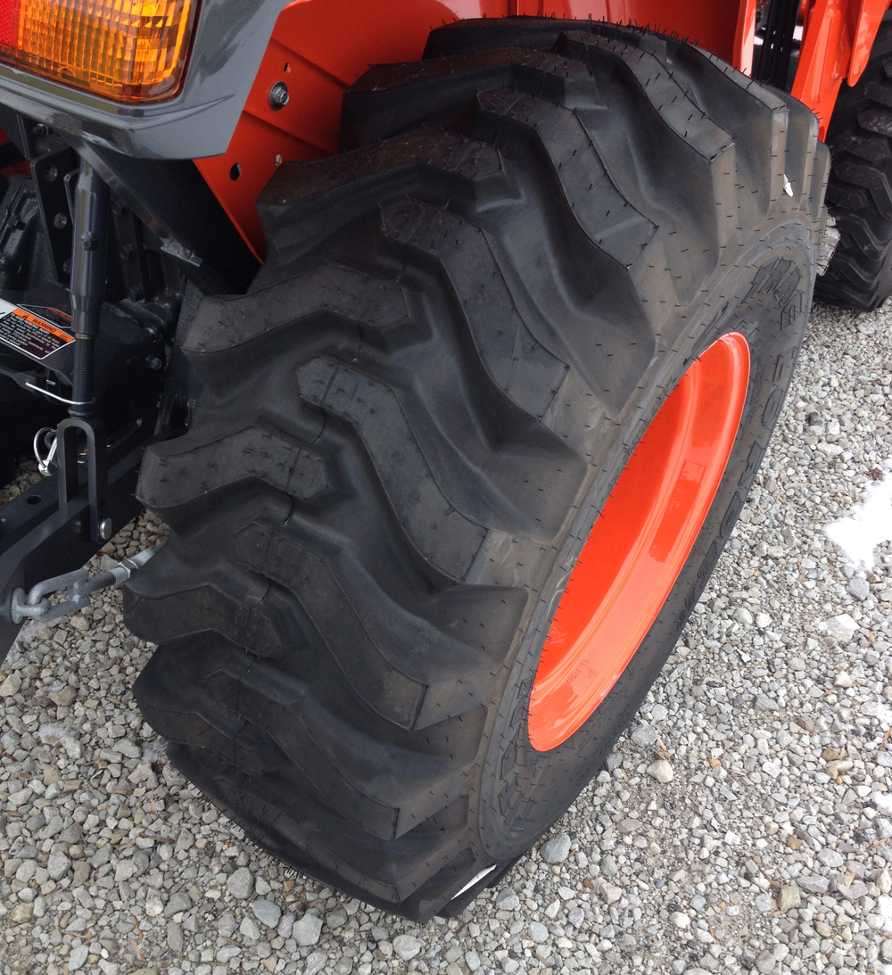Kubota Tractor Tires R4 : How to select the correct tire for your tractor