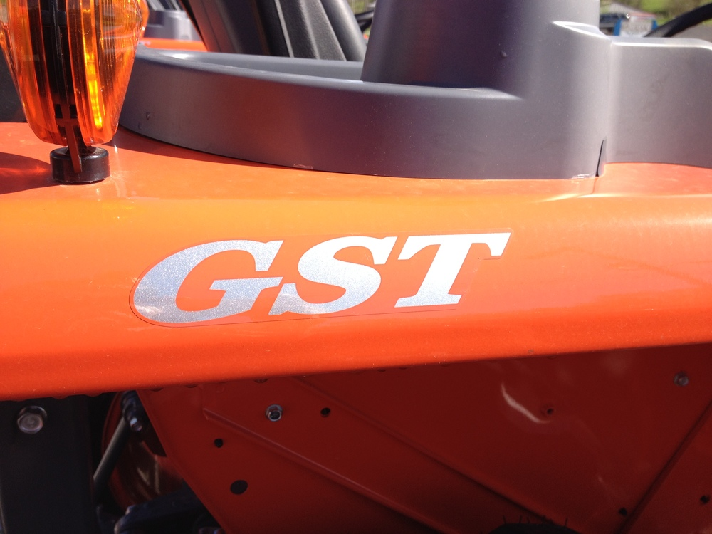 GST means the tractor has a glide shift transmission- a clutch free transmission.