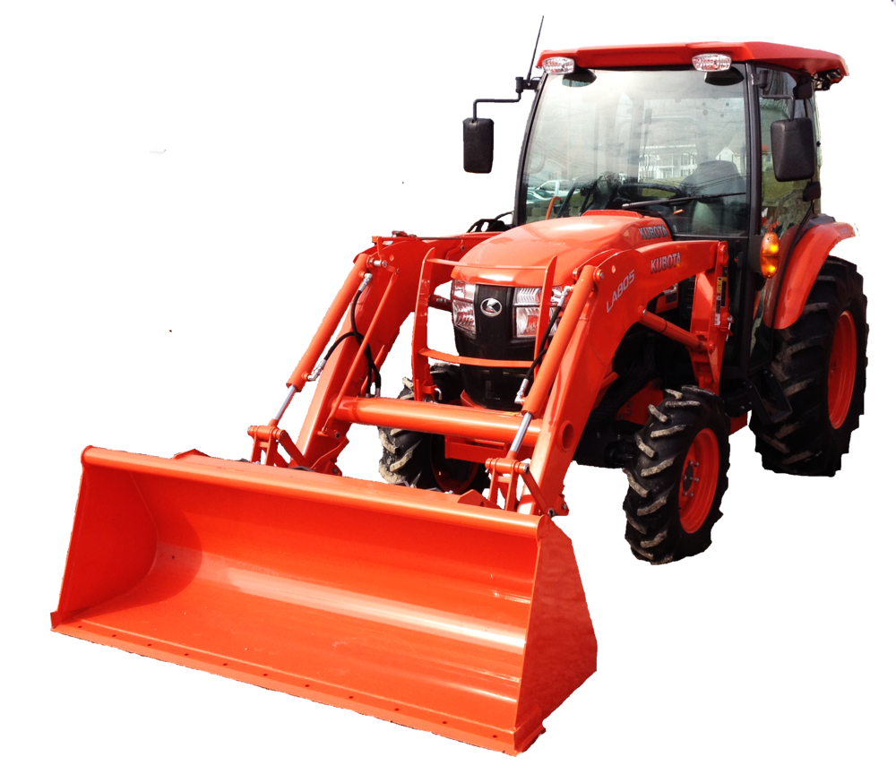 The Kubota Grand L 4060 Cab is the perfect tractor for any weather