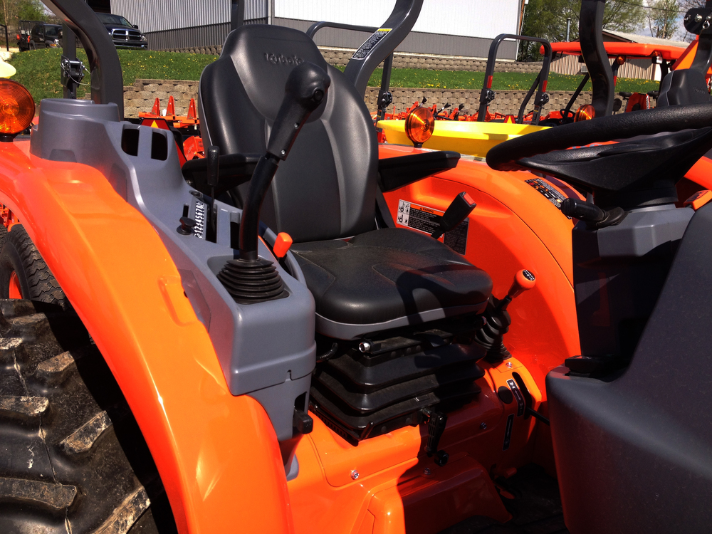 The Kubota Grand L series features an all new ergonomic design for easier use.