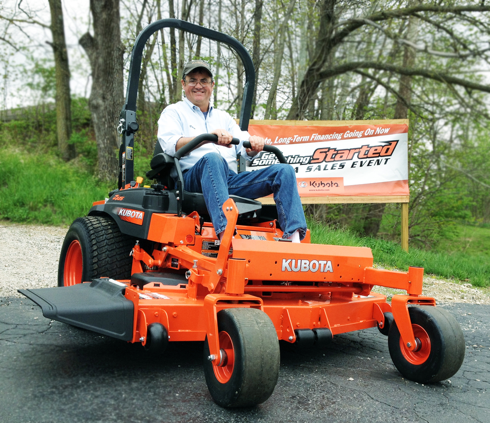 """The Kubota Z725 holds a hillside better than any gas powered zero turn lawn mower I've driven."""