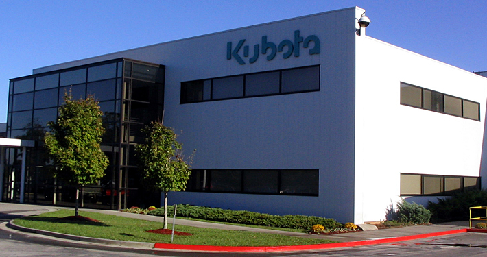 The Kubota Manufacturing Headquarters in Gainsville, GA
