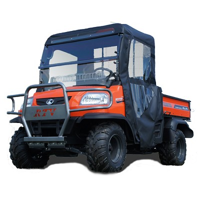 Orange Aftermarket is our supplier of aftermarket cabs for Kubota RTVs and Kubota Tractors.