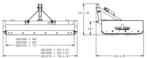 Grading Blade With A Box : The land pride dilemma box scraper vs grader