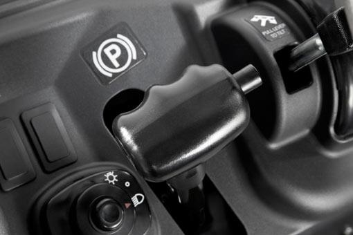 Ergonomic Parking Brake