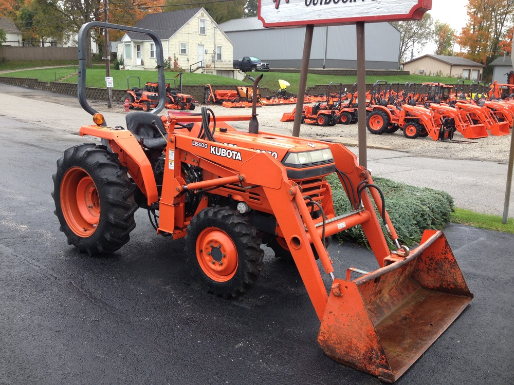 Old Kubota Parts : Common misconceptions about used kubota tractors